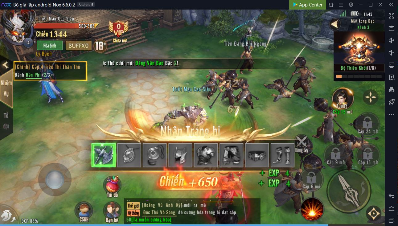 Hướng dẫn chơi Long Kỷ Nguyên trên PC 5-1
