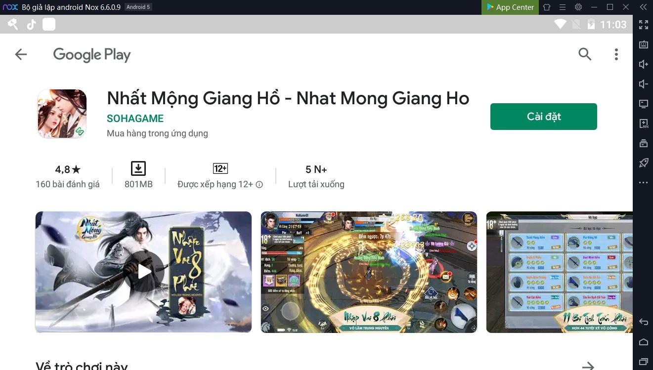 Hướng dẫn chơi Nhất Mộng Giang Hồ trên PC 2-2