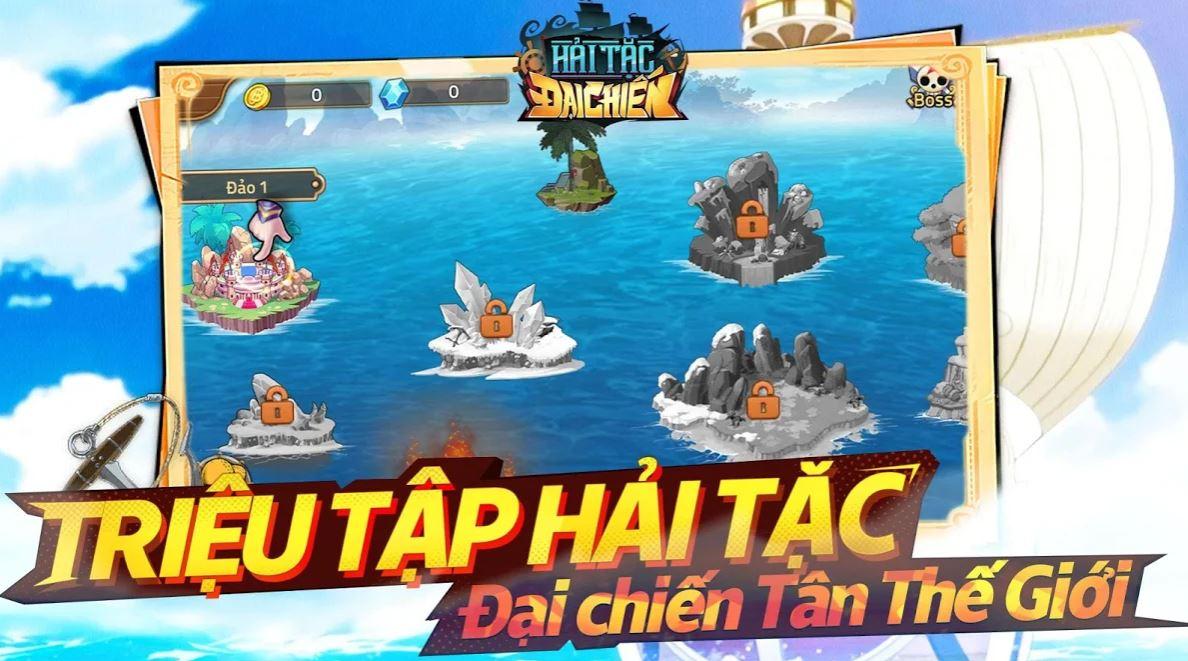 Hải Tặc Đại Chiến game mobile đấu tướng dựa trên bộ manga nổi tiếng One Piece 5-5