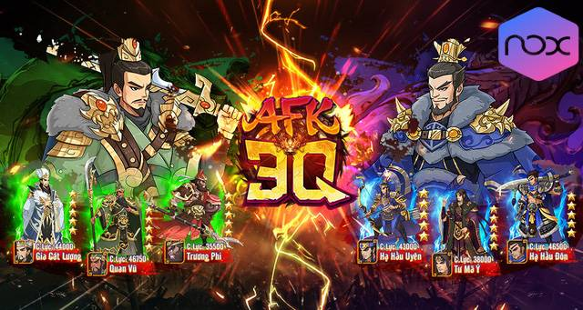 Hướng dẫn Tải AFK 3Q – Đế Vương Thiên Hạ trên PC Photo-1-16098218940891349607915-1